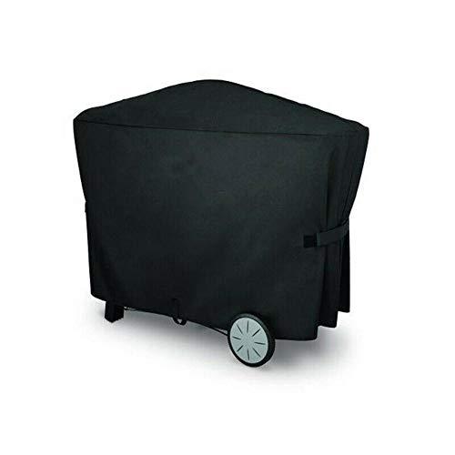 Telo copri barbecue impermeabile triangolo prismatico, griglia di protezione esterna per copertura completa, copertura per barbecue impermeabile per weber q3000 q2000
