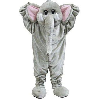 Riesiger Zirkus Elefant Maskottchen Halloween Verkleidung Karneval Tier (Maskottchen Tier)