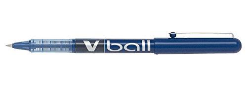 Pilot VB5 Tintenroller 0,5 mm Schreibspitze 0,3 mm Strichbreite 12 Stück blau