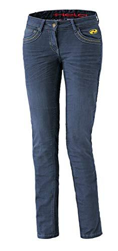 Held Hoover Damen Motorradjeans, Farbe blau, Größe 28/32