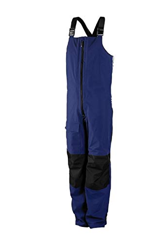 adidas Sailing Segelhose Unisex 2 Layer High Bib, Größe:L, Farbe:Night Blue