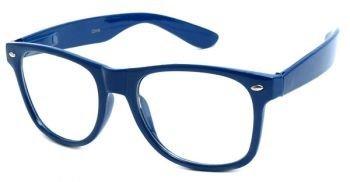 Kerl Nerd Kostüm - Arcton Blau Retro übergroßen Stil Rahmen-Nerd Geek Glasses
