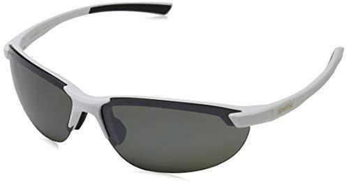 Smith Optics Unisex-Erwachsene Parallel 2 Sonnenbrille, Mehrfarbig (Mattwhite), 71 (Sonnenbrille Für Damen Von Smith Optics)