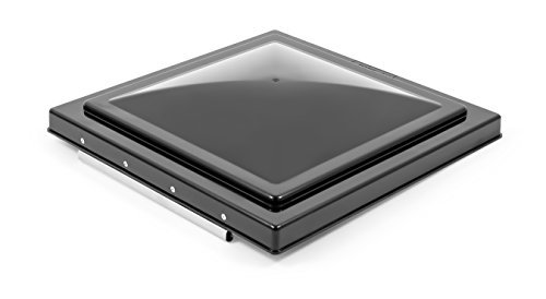 Camco 40178 Replacement Vent Lid ( Ventline (pre 2008) & Elixir (since 1994) Black Unbreakable Polycarbonate ) by Camco