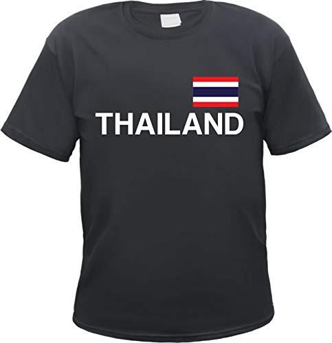 Thailand T-Shirt Schwarz XL