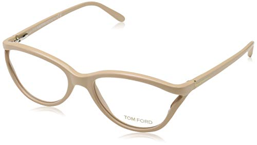 Tom Ford Damen Brille FT5280 072 Brillengestelle, Natural, 53