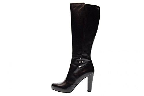 NERO GIARDINI Scarpe Donna Stivali con Tacco A719624DE/100 Nero Nero