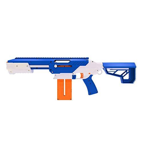 Jet Blaster 560642 - CEDA Dartblaster, Nerf-kompatibler Spielzeugblaster, Farbe: Blau (Blaster)