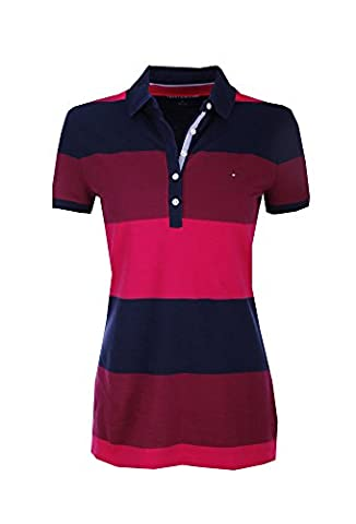 TOMMY HILFIGER-Polo Femme (S-36)