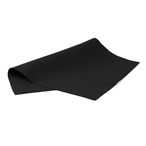 Pryse 5062033Kunstdruck–Filz, 40x 60cm, Schwarz