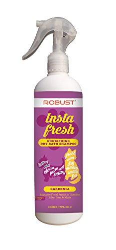 Robust Nourishing Dry Bath Shampoo, Gardenia, 500 ml
