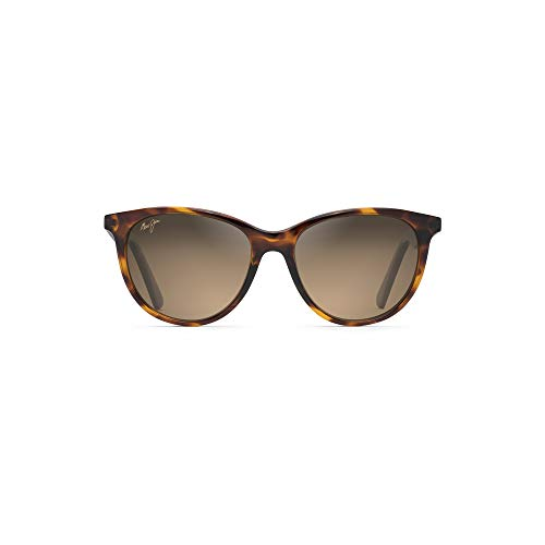 Preisvergleich Produktbild Maui Jim HS782-10 10 Tortoise Cathedrals Round Sunglasses Polarised Lens Category 3 Lens Mirrored Size 52mm