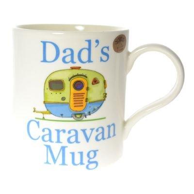 The Leonardo Collection Fantaisie Dad's Caravan Mug dans une boîte cadeau, Blanc