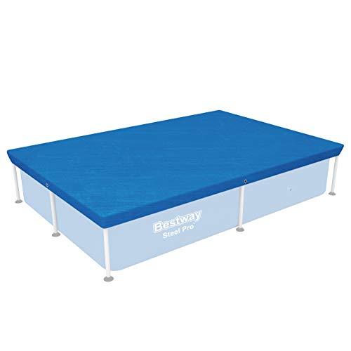 Bestway Cobertor Invierno para Piscina Desmontable, 221x150x43 cm, color azul