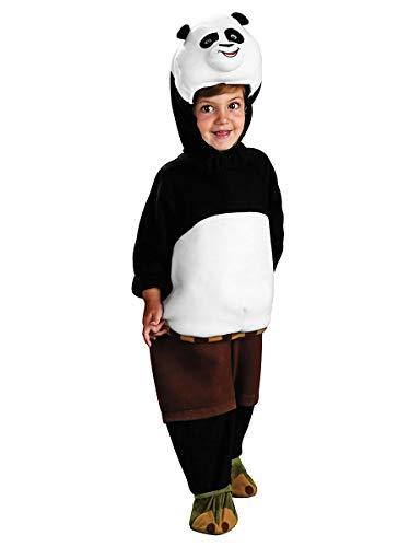 Panda Fu Kung Kostüm - HRC Kung Fu Panda Kinderkostüm - 98-104 cm