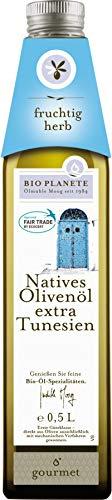 Bio Planète Olivenöl nativ extra Tunesien, 2er Pack (2 x 500 ml)
