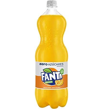 Fanta Zero Naranja Refresco con gas 2 l Botella de pl stico