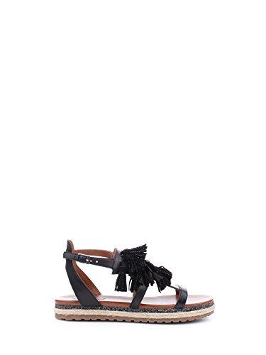 Docksteps DSE103509 Sandali Donna Leather/suede Black/black Black/black 40