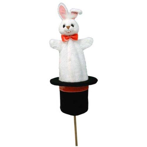 Trullala Tütenkasper, Tütenpuppe, Motiv: Kaninchen Zylinder 50 cm
