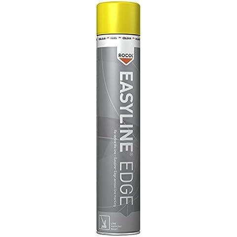 Rocol 47001 - Easyline Pintura Para Marcar Edge - Amarillo