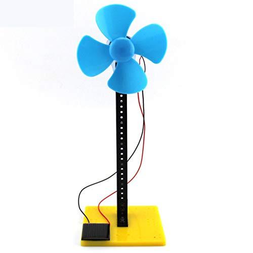 Solar Panel Motor and Fan Kit