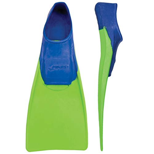 FINIS Kinder Floating-8-11 Swim Fin, blue/lime green, XXXS - EU 26-29