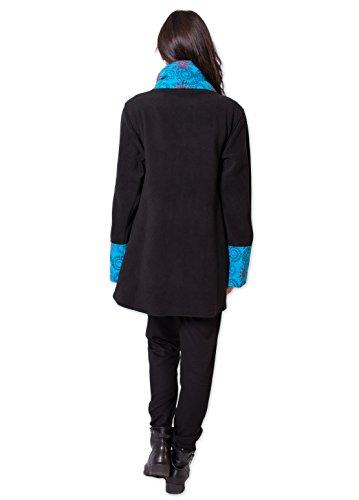 Coton Du Monde Damen Mantel Mehrfarbig