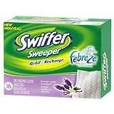 Swiffer Lingettes sèches pour balayeuse jetables tiges de lavande et Parfum vanille - 16 Ea