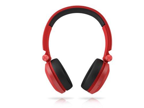 JBL BT Wireless Bluetooth On-Ear Stereo-Kopfhörer (aufladbar mit Superweichem Ohrpolster, geeignet für Apple iOS/Android Geräten) rot - 2