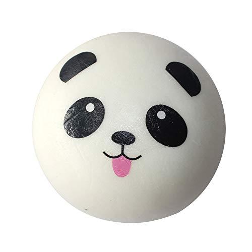 Matschig Panda Brot Simulation Panda Brot Phone Charms matschig Spielzeug Tasche Riemen Anhänger Geschenke Dekorationen Schlüsselanhänger und Schlüsselring -