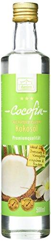 Danlee Cocofin aus Kokosöl -bleibt flüssig, 1er Pack (1 x 500 ml)