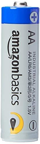 AmazonBasics AA Industrie Alkalibatterien, 40er Pack