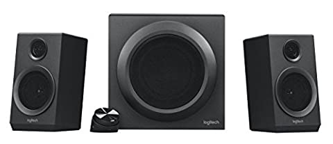Logitech Z333 Multimedia Speakers - Black