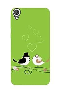 ZAPCASE PRINTED BACK COVER FOR HTC DESIRE 820 - Multicolor