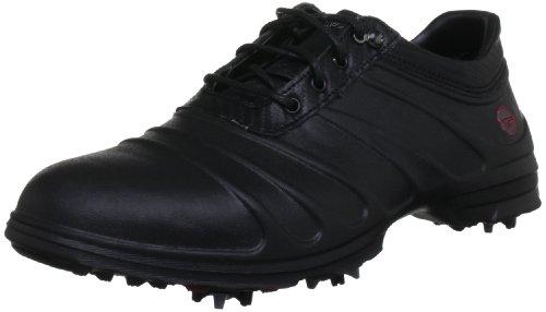 Hi-Tec Golf - Scarpe sportive, Uomo, Nero (Schwarz (Black/Carbon/Red)), 41 (7 uk)