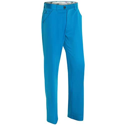 Royal & Awesome Herren Golf Hose - Why So Blue (Golf Hosen Herren)