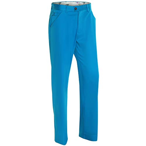 Royal & Awesome Herren Golf Hose - Why So Blue - Golf Shorts Blau