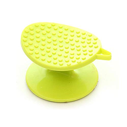 LDCP 10 STK. Karotten Yam Kartoffelbürste Ingwer Schäler Reinigungsbürste Kunststoff Schaber Obst Gemüse Bürsten einfache Reinigung Küchenzubehör, grün -