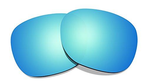 Littlebird4 Polarisierte Ersatzgläser für Oakley Garage Rock (1,5 mm), eisblau
