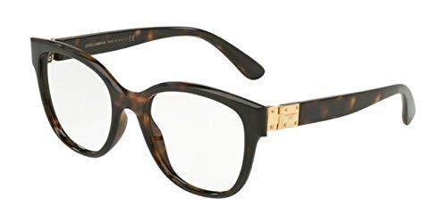 Dolce & Gabbana Damen Brillengestelle 0DG5040, Braun (Havana), 54