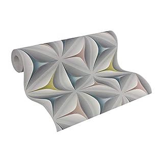 A.S. Creation 96042-2 A.S.Creation 3D Star Effect Wallpaper, Roll Size: 10.05m x 0.53m