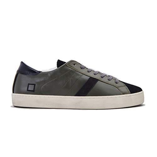 Date sneakers uomo basse verdi (43 eu)