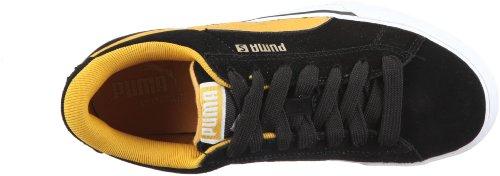 Puma SE Vulc 352670 Unisex-Erwachsene Sneaker Schwarz/black-mineral yellow