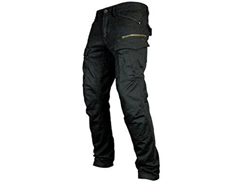 John Doe Motorradschutzhose, Motorradhose, Bikerhose Stroker Hose schwarz 32/32, Unisex, Chopper/Cruiser, Ganzjährig, Baumwolle