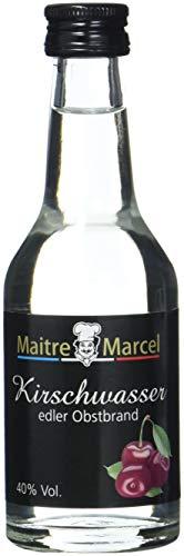 Maitre Marcel Kirschwasser 40% Vol, 6er Pack (6 x 100 ml)