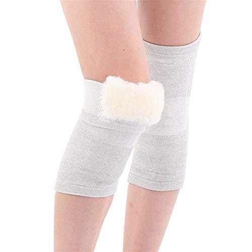 GSSHX Knieschoner - Winter Kälte Wärme Verdickung Leggings Wolle Sport Knieschoner for Outdoor-Aktivitäten (Size : L) -