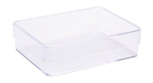 Boîte acrylique avec couvercle « Rectangle »