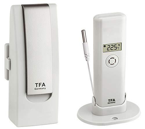 Weatherhub 51 Gefrierschrank Temperaturkontrolle TFA 31.4000.02.51 Lebensmittelüberwachung Gefriertruhen Funk Kabelsender TFA-Dostmann