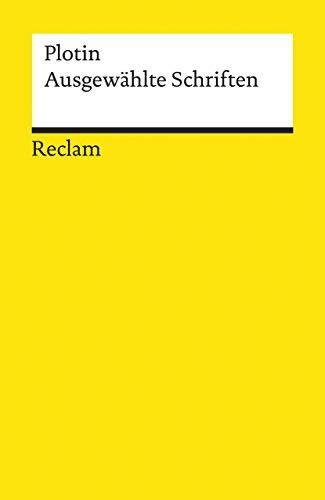 Ausgewählte Schriften (Reclams Universal-Bibliothek)