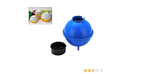 """S7803 UK Made Large Sphere Round Candle Mould Mold 4/"""" 100mm dia Candle Making"""